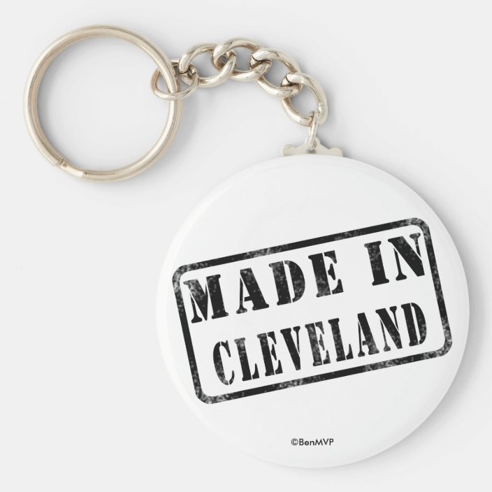 Made in Cleveland Keychain