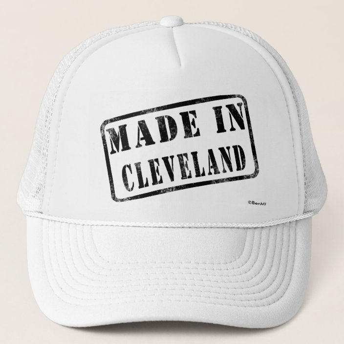 Made in Cleveland Mesh Hat