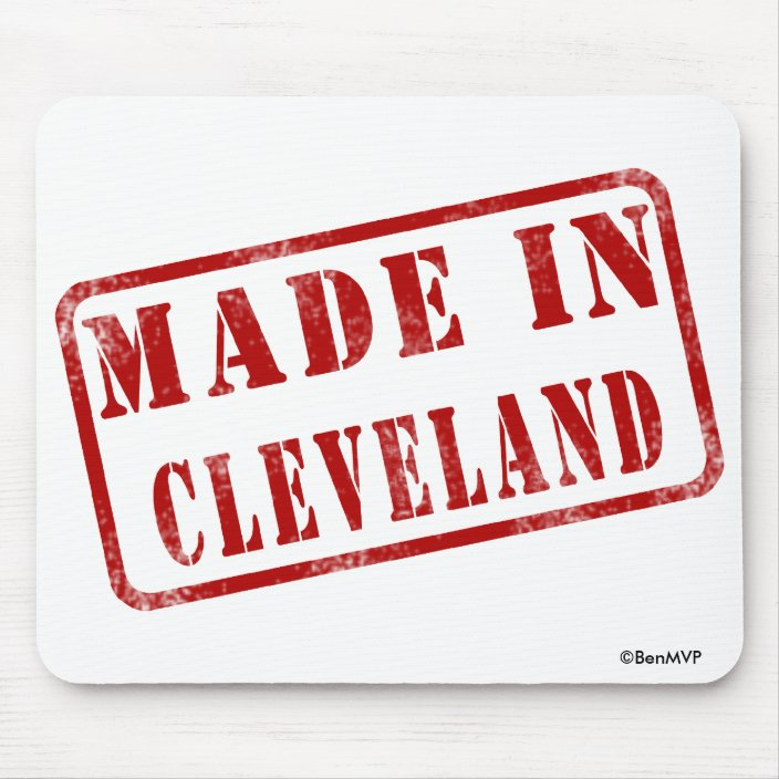 Made in Cleveland Mousepad