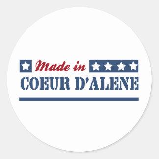 Made in Coeur d'Alene Classic Round Sticker
