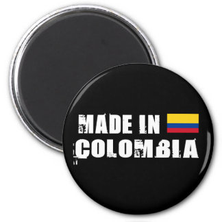 Made in Colombia 2 Inch Round Magnet