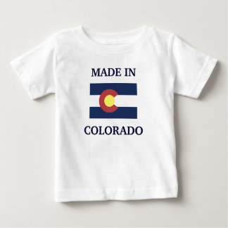 MADE IN COLORADO baby shirt