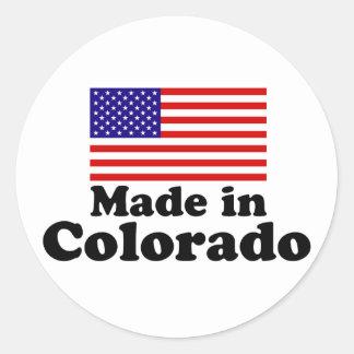 Made in Colorado Classic Round Sticker