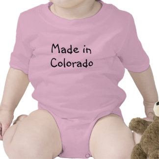 Made in Colorado infant Creeper Romper