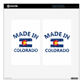 Made in Colorado Kindle Fire Decals