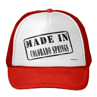 Made in Colorado Springs Trucker Hat