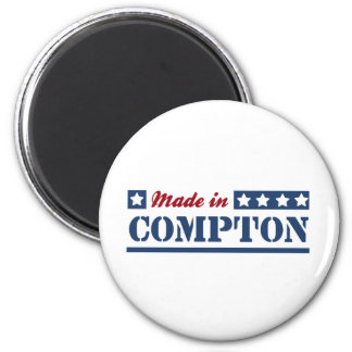 Made in Compton 2 Inch Round Magnet