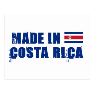 Made in Costa Rica Post Card