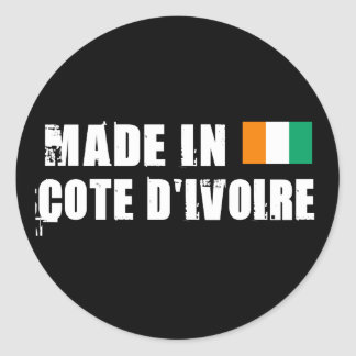 Made in Cote D&Apos;Ivoire Sticker