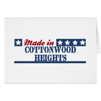 Made in Cottonwood Heights Greeting Card