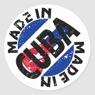 Made In Cuba Label Stickers
