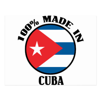 Made In Cuba Postcard