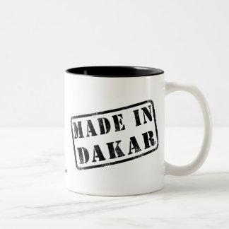 Made in Dakar Two-Tone Coffee Mug