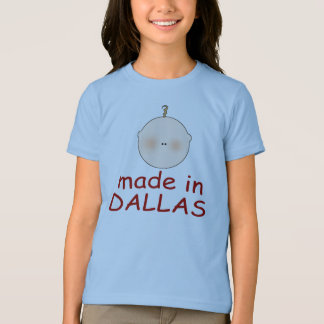 Made In Dallas Texas Gift T-Shirt