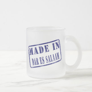 Made in Dar es Salaam Frosted Glass Coffee Mug