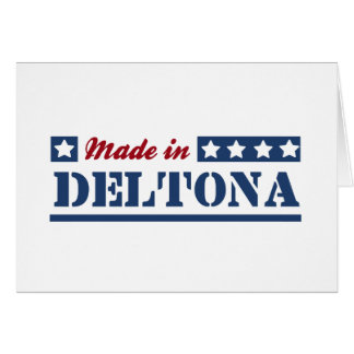 Made in Deltona Greeting Card
