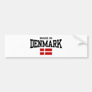 Made In Denmark Bumper Sticker