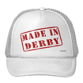 Made in Derby Trucker Hat