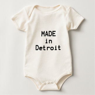 Made in Detroit Baby Bodysuit