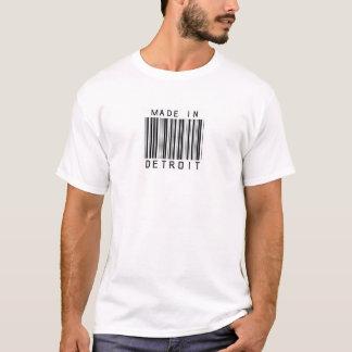 Made in Detroit Barcode T-Shirt