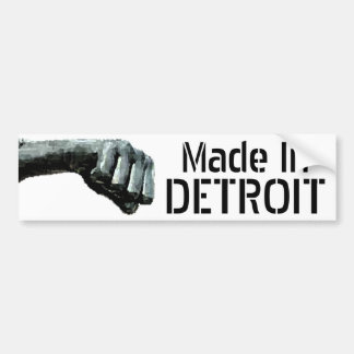Made In Detroit Bumper Stickers