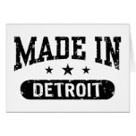 Made In Detroit Cards
