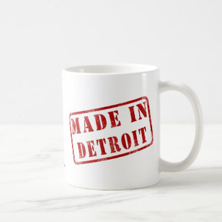 Made in Detroit Coffee Mugs