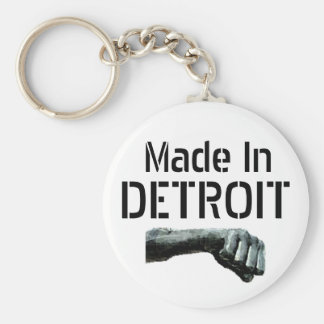 Made in Detroit Keychain