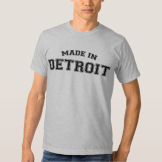 Made in Detroit T-Shirt City Born