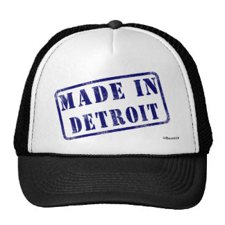 Made in Detroit Trucker Hat