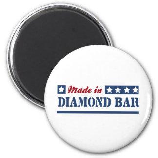 Made in Diamond Bar 2 Inch Round Magnet