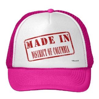 Made in District of Columbia Trucker Hat