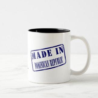 Made in Dominican Republic Two-Tone Coffee Mug