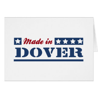 Made in Dover Greeting Card