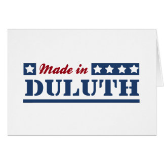 Made in Duluth Greeting Card