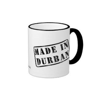 Made in Durban Ringer Coffee Mug