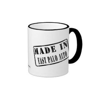 Made in East Palo Alto Ringer Coffee Mug