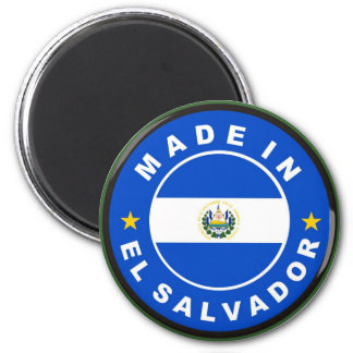 made in el salvador country flag product label magnets