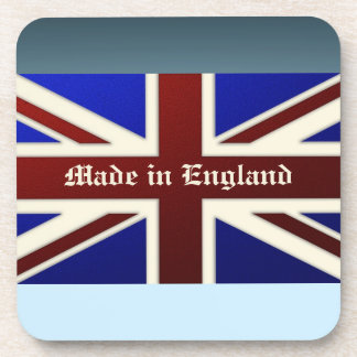 Made in England Metallic Union Jack Flag Drink Coasters