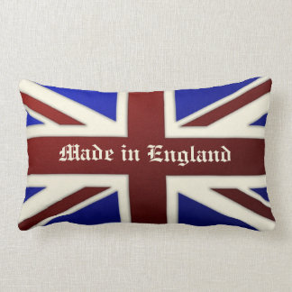 Made in England Metallic Union Jack Flag Pillow