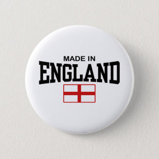 Made In England Pinback Button