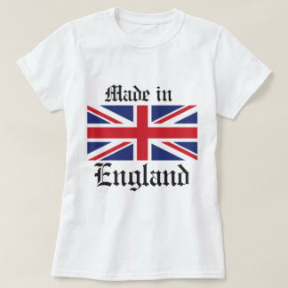 made in England, Union Jack Flag T Shirt
