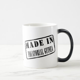 Made in Equatorial Guinea 11 Oz Magic Heat Color-Changing Coffee Mug