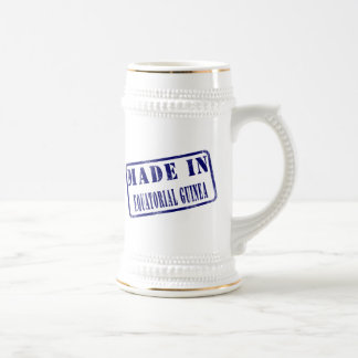 Made in Equatorial Guinea Beer Stein