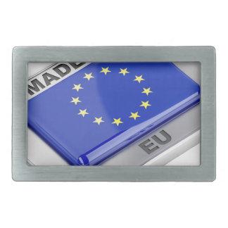 Made in European Union Belt Buckle