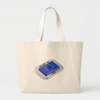 Made in European Union Large Tote Bag