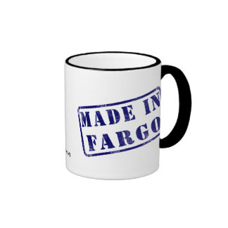 Made in Fargo Ringer Mug