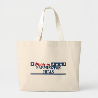 Made in Farmington Jumbo Tote Bag