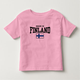Made In Finland Toddler T-shirt