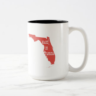 Made In Florida Two-Tone Coffee Mug